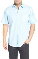Bugatchi Men's Classic Fit Sport Shirt