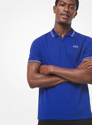 Michael Kors Cotton Pique Polo Shirt