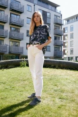 Dickies White Carpenter Trousers - White 26 at Urban Outfitters