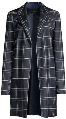 Lafayette 148 New York Kidman Windowpane Virgin Wool-Blend Jacket