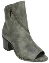 White Mountain Women's Dara Open Toe Bootie