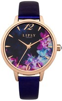 Lipsy Metallice Floral Watch