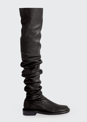 Proenza Schouler Boyd Slouchy Stretch Thigh-High Boots