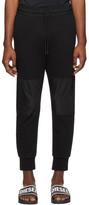 Diesel Black P-Ortex Lounge Pants