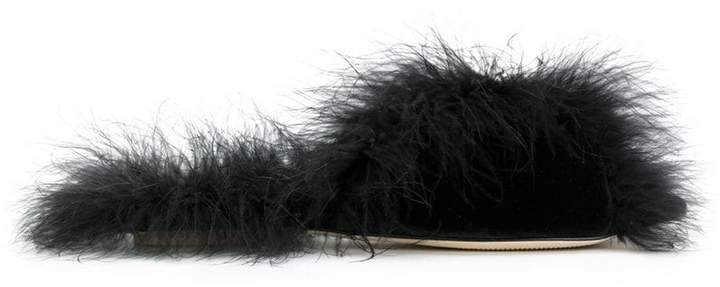 Simone Rocha feather sandals
