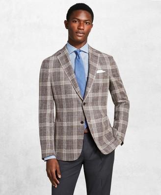 Brooks Brothers Golden Fleece Checked Twill Sport Coat