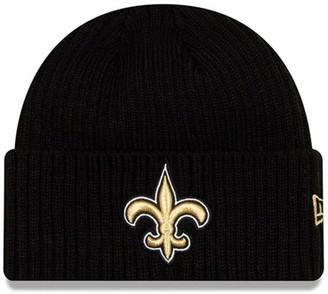 New Era Toddler Black New Orleans Saints Core Classic Cuffed Knit Hat