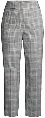 Rebecca Taylor Plaid Suiting Pant