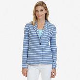 Nautica Striped Knit Blazer