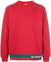 Supreme Rib Stripe crew neck sweatshirt