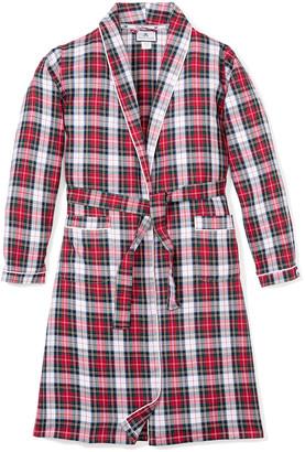 Petite Plume Festive Tartan Robe, Size 2-14