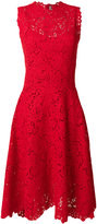 Ermanno Scervino high neck lace dress
