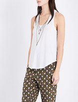 The Kooples Chain cotton-blend top