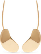 Charlotte Chesnais Nues Gold-dipped Earrings - one size