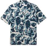 Enlist - Printed Cotton-poplin Shirt