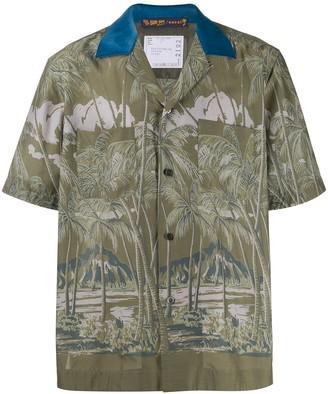 Sacai Tropical Print Shirt