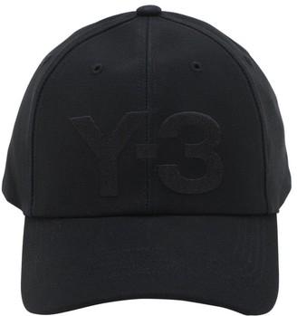 Y-3 Classic Logo Cotton Baseball Hat
