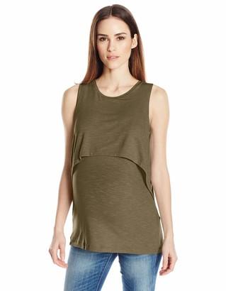 Ripe Maternity Women's Summer Swing Back Nursing Tank Vest