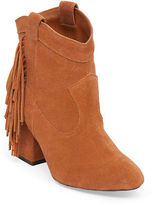 Jessica Simpson Wyoming Fringe Suede Booties