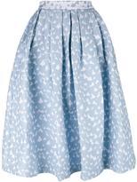 House of Holland Heart Dirndl skirt - women - Cotton/Polyamide/Polyester/Rayon - 12