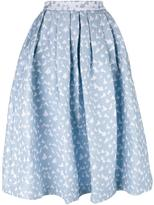 House of Holland Heart Dirndl skirt - women - Cotton/Polyamide/Polyester/Rayon - 14