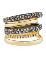 Alexis Bittar Pavé Orbit Five-Row Ring