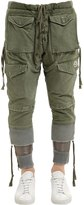 Moncler Greg Lauren Collide Cotton Cargo Pants