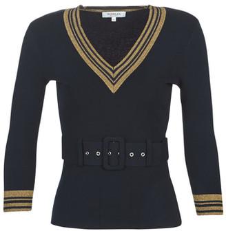 Morgan MIKIA women's Sweater in Blue