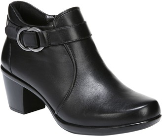 Naturalizer Leather Ankle Boots - Elisa