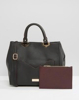 Lipsy Tote Bag With Contrast Pocket