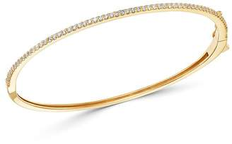 Bloomingdale's Micro-Pave Diamond Stacking Bangle in 14K Yellow Gold, 0.60 ct. t.w. - 100% Exclusive