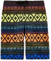 Arizona Aztec Print Swim Trunks - Boys 8-20