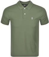 Psycho Bunny Classic Polo T Shirt Green