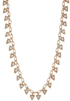 Melinda Maria Mini Pyramid Fringe Necklace