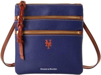 Dooney & Bourke MLB Mets N S Triple Zip Crossbody
