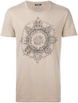 Balmain circle crest T-shirt
