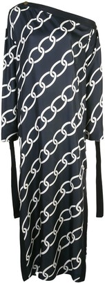 Monse Chain Print Kaftan