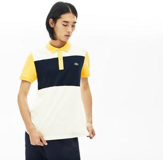 Lacoste Men's Stretch Colorblock Polo Shirt
