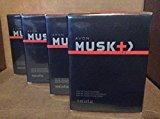 Avon Musk + Fire Eau De Toilette 2.5 fl. oz. Lot 4 bottles