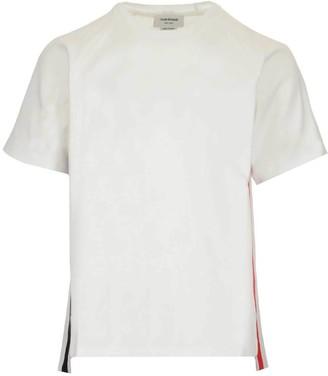 Thom Browne RWB Stripe Crewneck T-Shirt