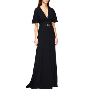 Alberta Ferretti Dress Long Satin Dress