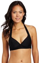 Seafolly Women's Goddess Fixed Molded Halter Bikini Top