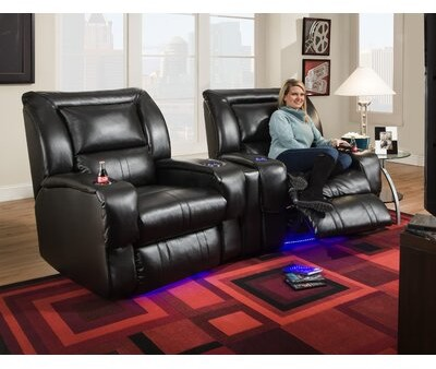 Southern Motion Roxie Home Theater Seating Lay Flat: No