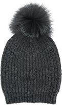 Eleventy pom ball knitted hat