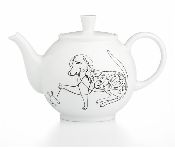 Crate & Barrel June Teapot by Elvis Swift