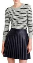J.Crew Women's Tippi Jacquard Dot Sweater