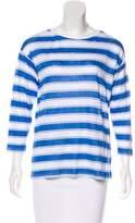 LK Bennett Stripe Linen Top w/ Tags