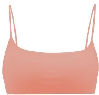 JADE SWIM Muse Thin-strap Bikini Top - Womens - Light Pink