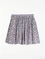 John Lewis Girls' Ditsy Floral Pleated Skirt, Multi