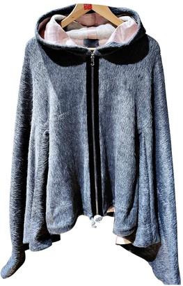 La Perla Grey Wool Jacket for Women